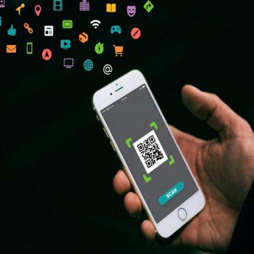 Codigo QR compartir clave WiFI