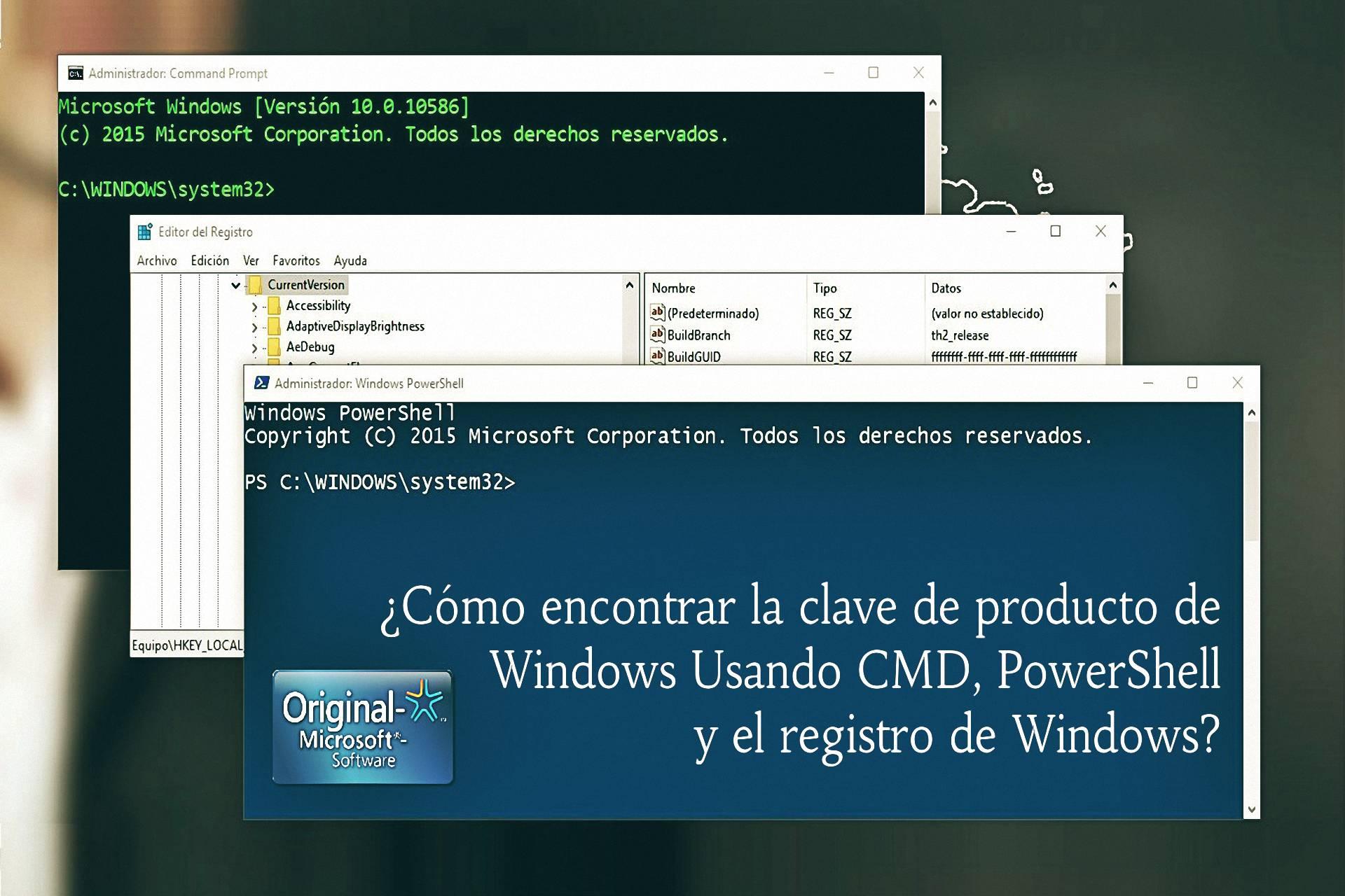 clave de producto para windows 10 64 bits