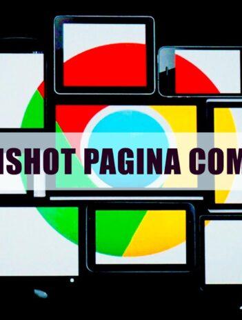 Tomar Captura de página completa en Chrome
