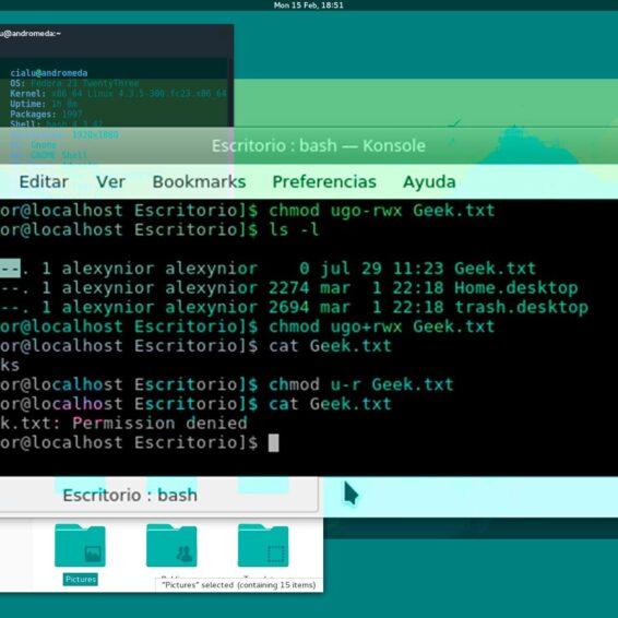 Permisos en Linux con chmod