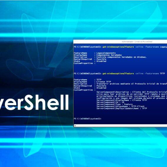 PowerShell Características Windows