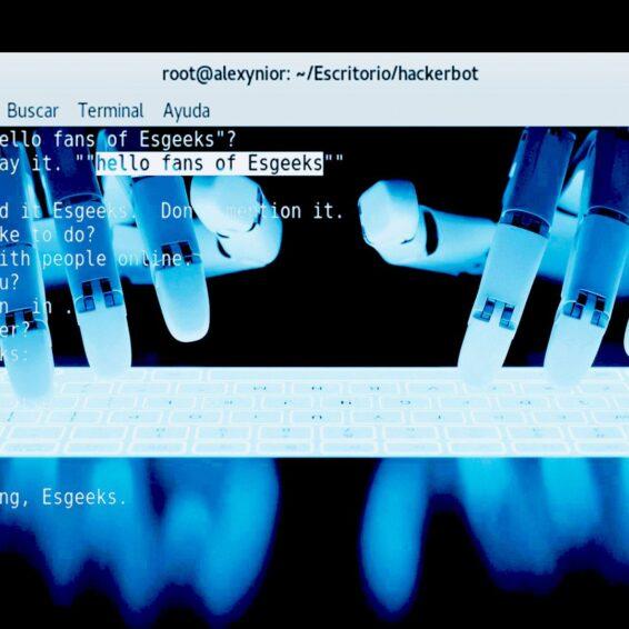Hackerbot Chat con Asistente Personal Hacker