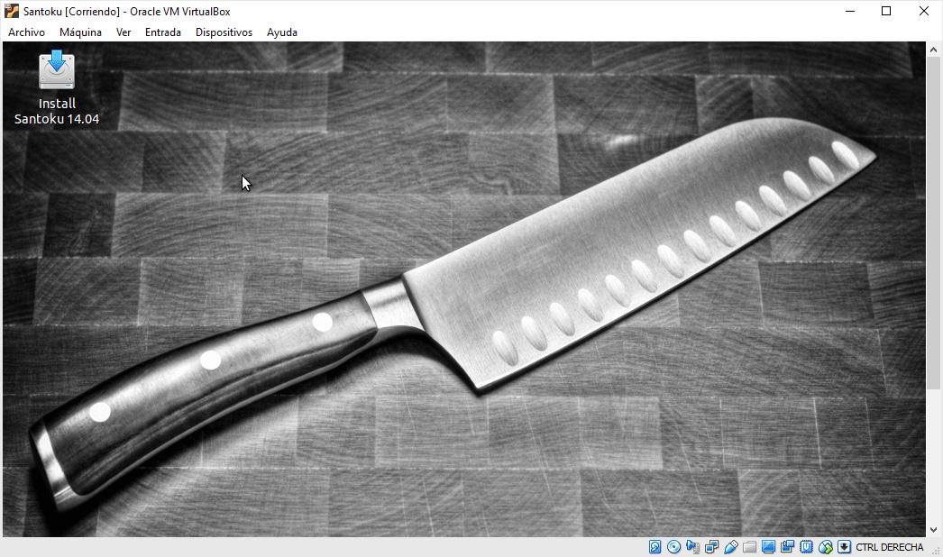 Cómo instalar Santoku OS