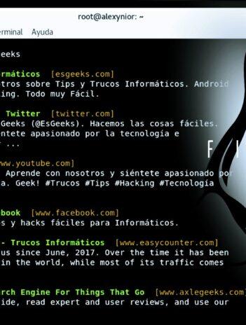 ddgr Buscador DuckDuckGo Google Terminal Linux