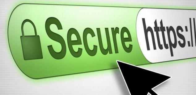 Barra de direcciones con HTTPS