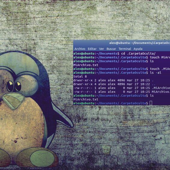 Cómo ocultar archivos y carpetas en Linux