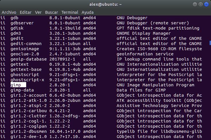 Desinstalar paquete linux