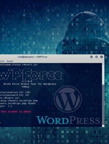 Cómo hackear un sitio web basado en WordPress con WPForce