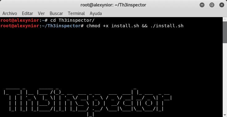 Instalar Th3inspector