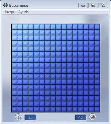 Juego Buscaminas o Minesweeper
