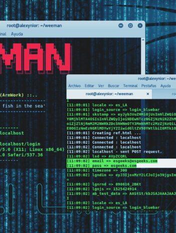 Weeman + Ngrok Hackear Facebook con Phishing