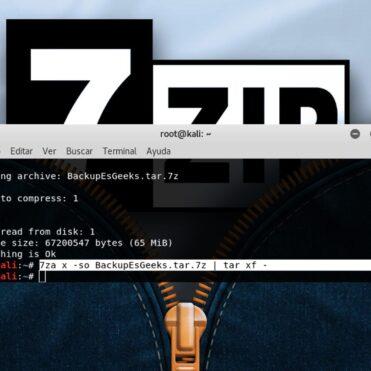 Ejemplos de comandos 7zip en Linux