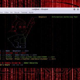 Devploit Herramienta para Information Gathering