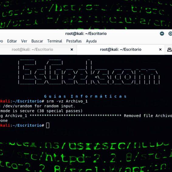 Eliminar archivos en Linux de forma permanente