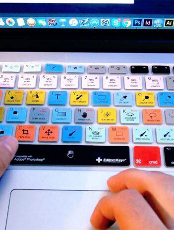 Todos los atajos de teclado de Aplicaciones de Diseño y Más