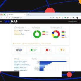 WebMap Un dashboard y reporte de Nmap