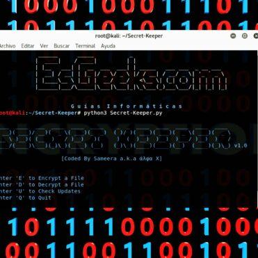 Secret Keeper Script Python para cifrar y descifrar archivos