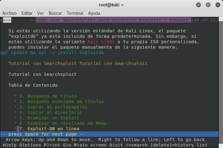 Ver un sitio web desde la terminal Linux