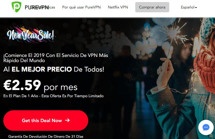 PureVPN - Lista de mejores VPN