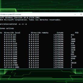 Cómo saber qué puertos están abierto en Windows