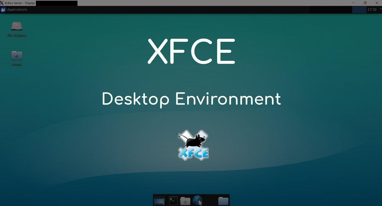 Entorno de escritorio Xfce