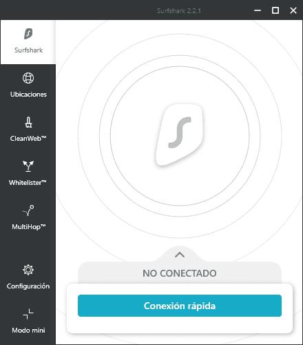 Configurar Surfshark VPN en Windows