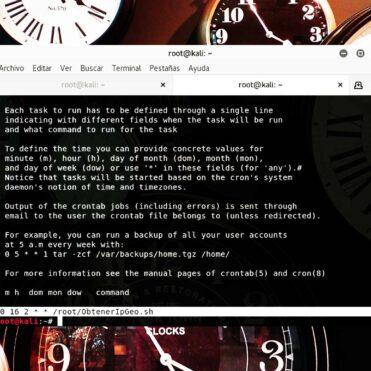 Guía Básica de Cron y crontab en Linux
