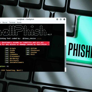 Hacking Phishing con Shellphish