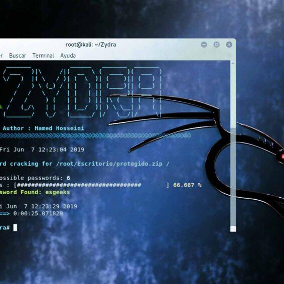 Zydra Cracking contraseñas archivos .RAR .ZIP .PDF
