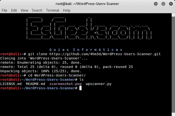 Descargar WordPress-Users-Scanner para Linux