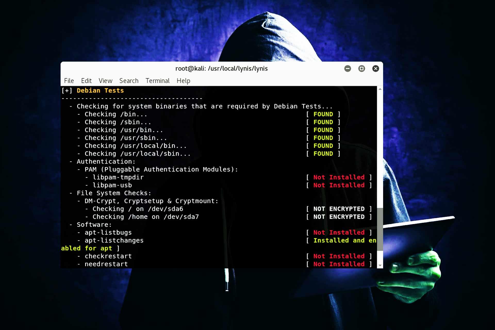 Lynis Auditoría Seguridad sistemas Unix Linux