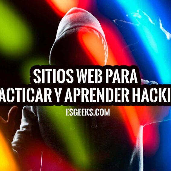 Sitios web para aprender a hackear legalmente
