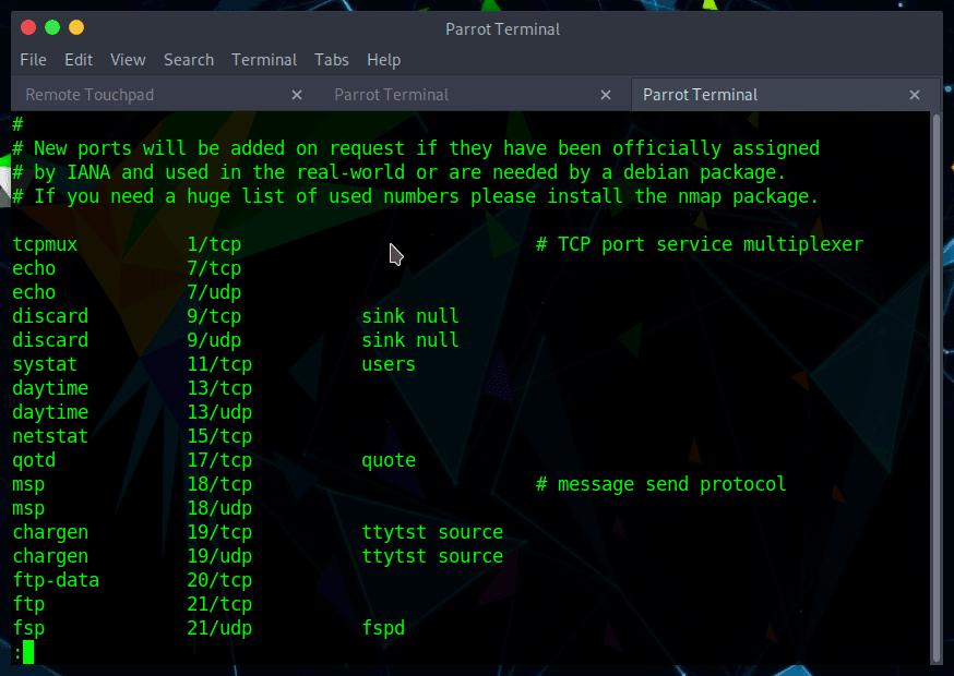 Ver servicios y puertos en Linux