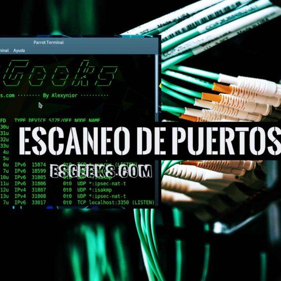 Escanear puertos Linux comandos Ss, Netstat, Lsof y Nmap