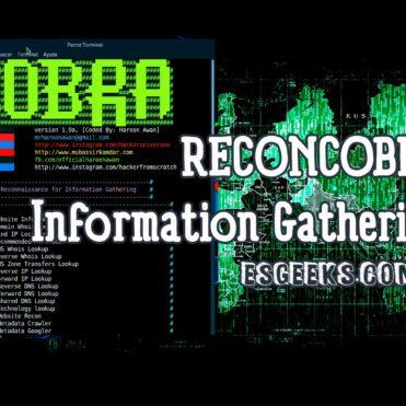 ReconCobra Information Gathering Completo