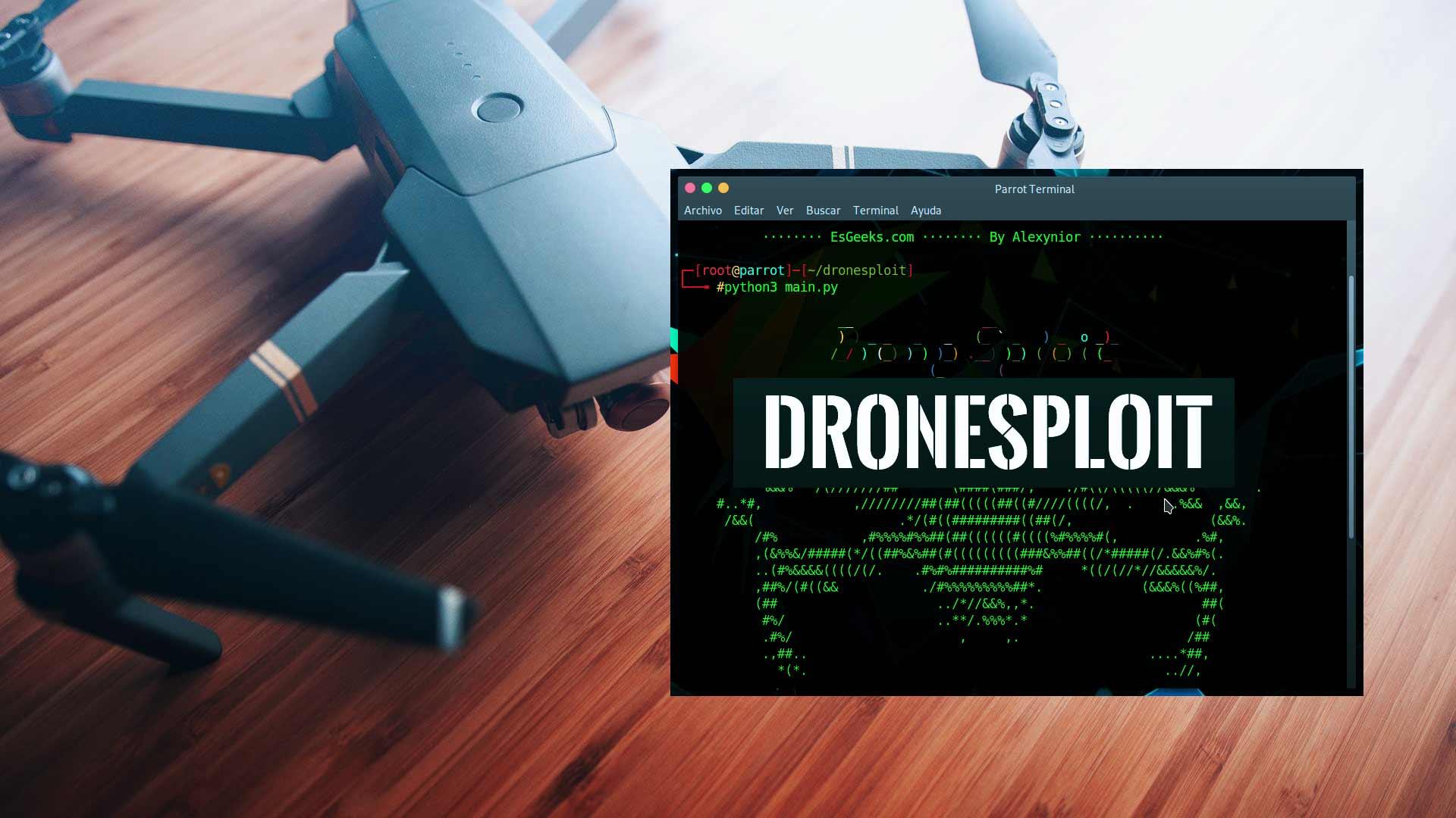 DroneSploit Metasploit para Drones