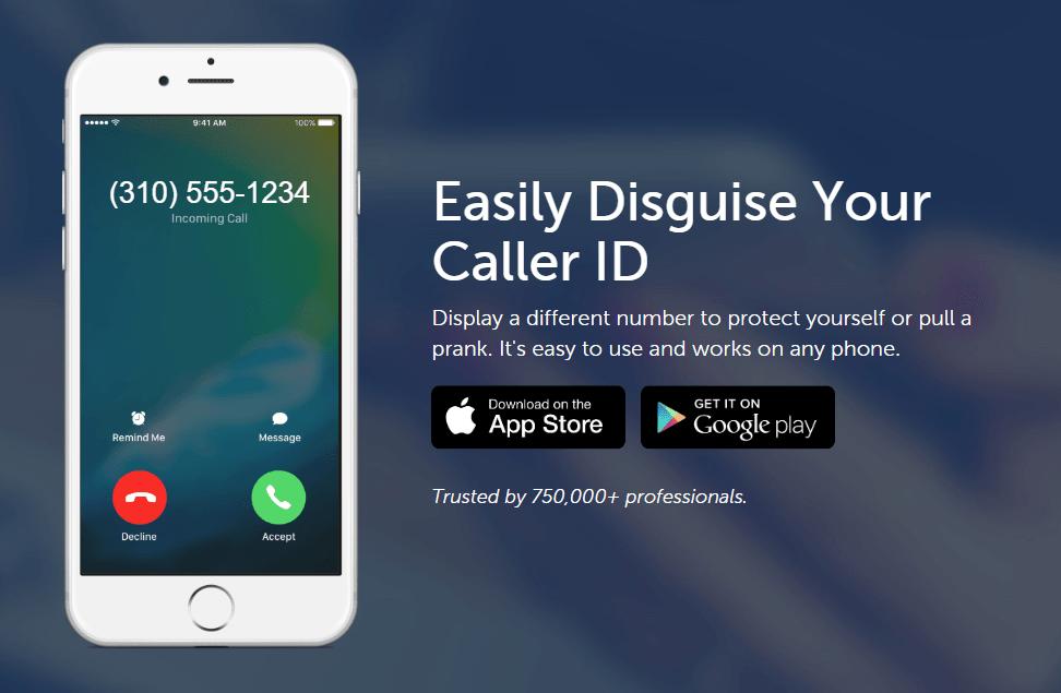 Disfrazar identificador de llamadas con SpoofCard