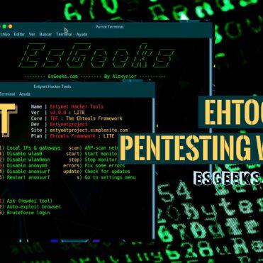 Ehtools Framework Pentesting Wi-Fi
