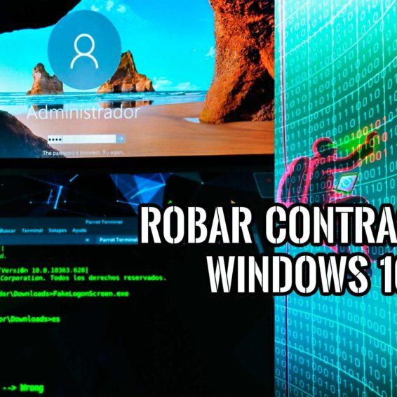 Robar Contraseña Windows usando FakeLogonScreen