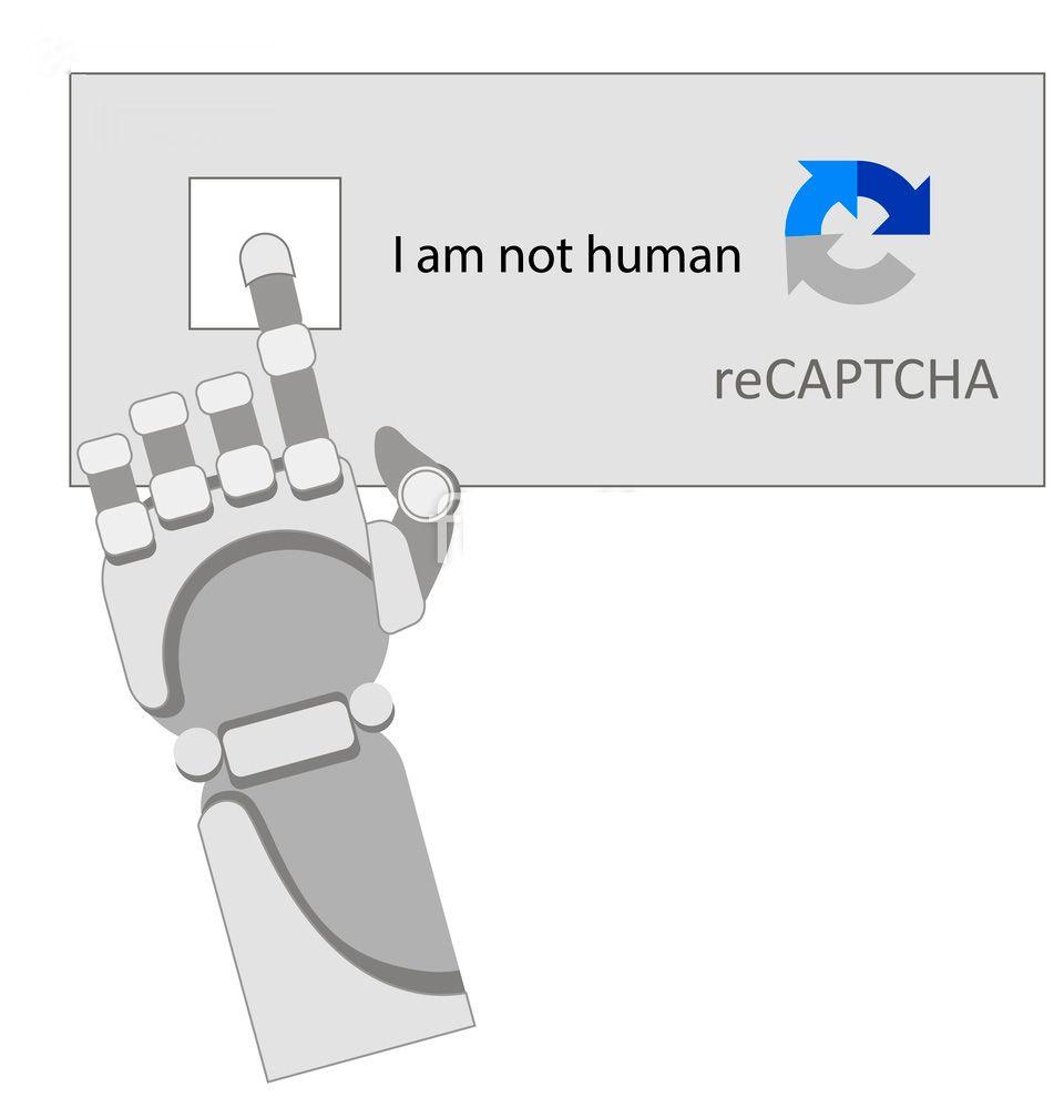 Yo no soy robot para Captcha