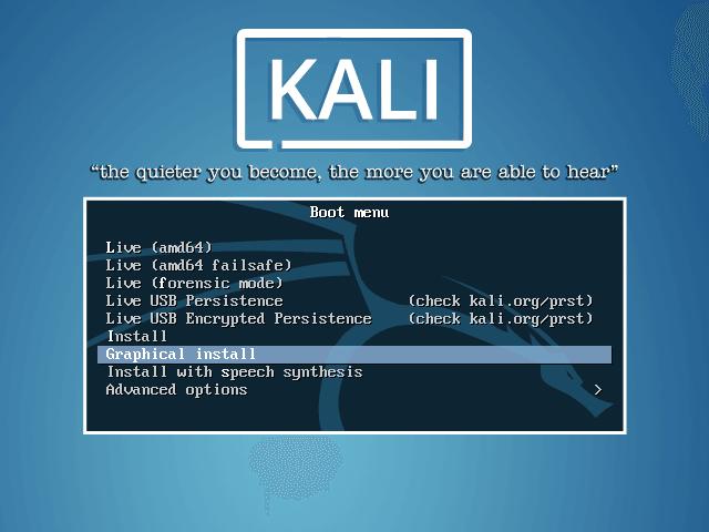 Cómo instalar Kali Linux