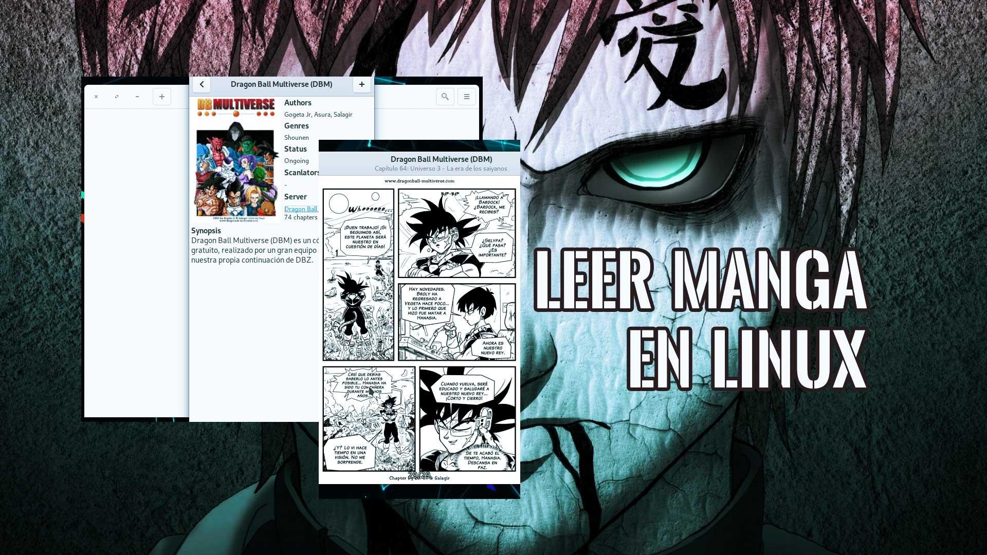 Leer manga japonés en Linux Español