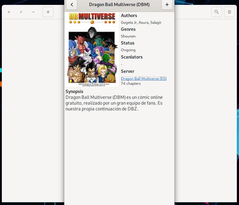 Manga Japoneses en Linux