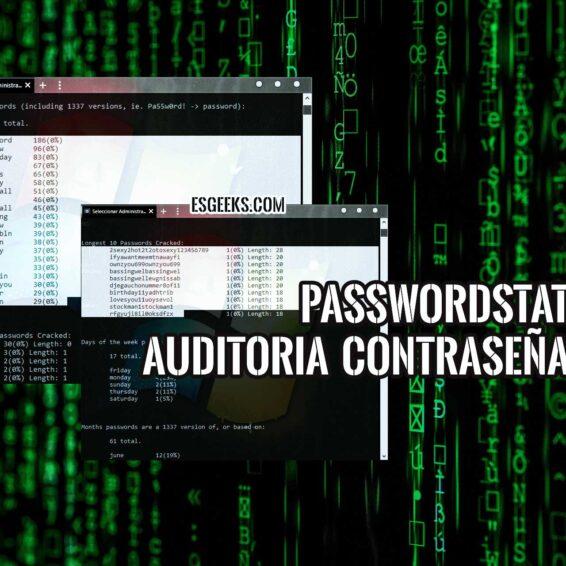 PasswordStats auditoria contraseñas Windows