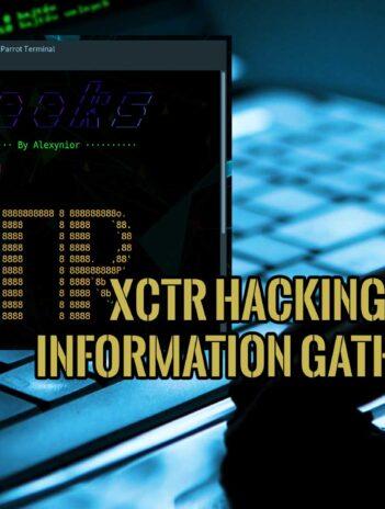 XCTR Hacking Tools Information Gathering