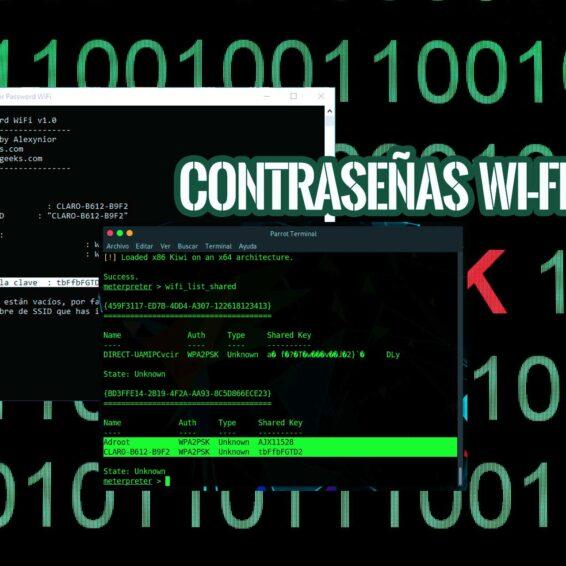 Extraer Credenciales WiFi Inalámbricas
