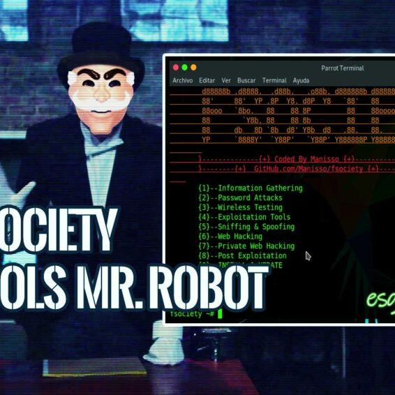Fsociety Herramientas Hacking Mr Robot