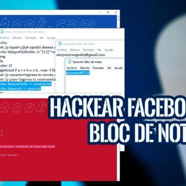 Hackear Facebook con Batch Windows