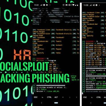SocialSploit Phishing Redes Sociales ngrok y serveo